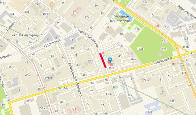 В Иркутске по улице Карла Либкнехта до 10 октября ограничат движение