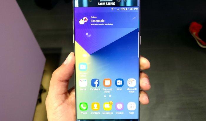 ВСША отзовут около миллиона смартфонов Samsung Galaxy Note 7
