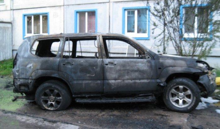 В Иркутской области ночью 20 сентября сгорели три автомобиля