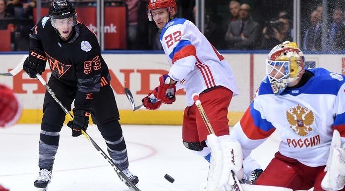 Сборная России обыграла хоккеистов Северной Америки на Кубке мира
