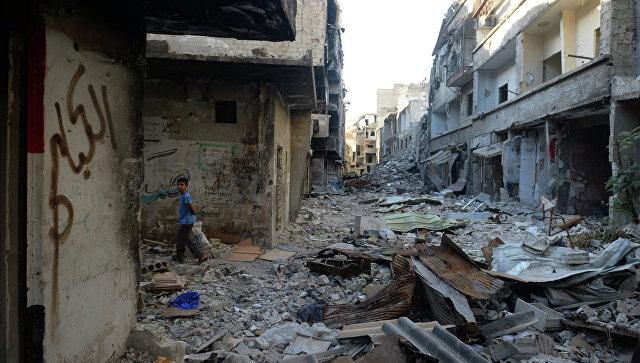 В Сирии при обстреле гуманитарного конвоя погибло большое количество людей