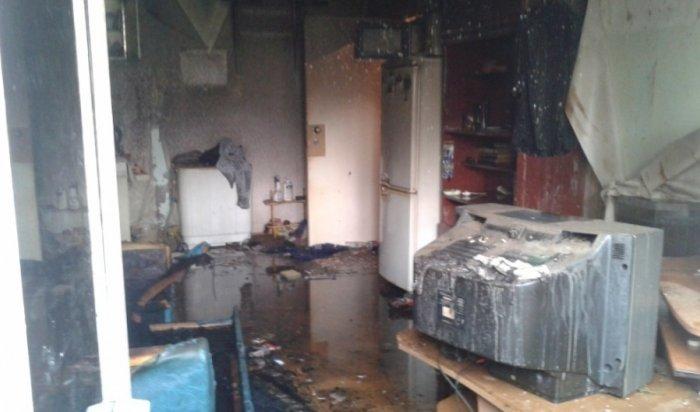 В Братске за сутки на пожарах погибли три человека
