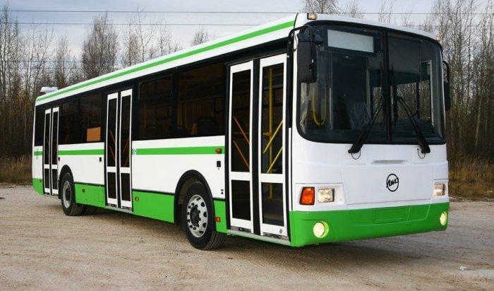 В автопарк Иркутска поступили 10 автобусов ПАЗ и два автобуса ЛиАЗ