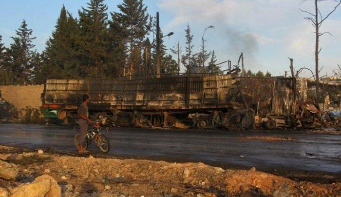 США обвинили российские СУ-24 в обстреле гуманитарного конвоя