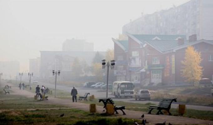 В Братске отменили занятия в школах из-за сильной задымленности в городе