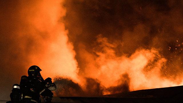 В Тайшете на пожаре погибла семья из четырех человек