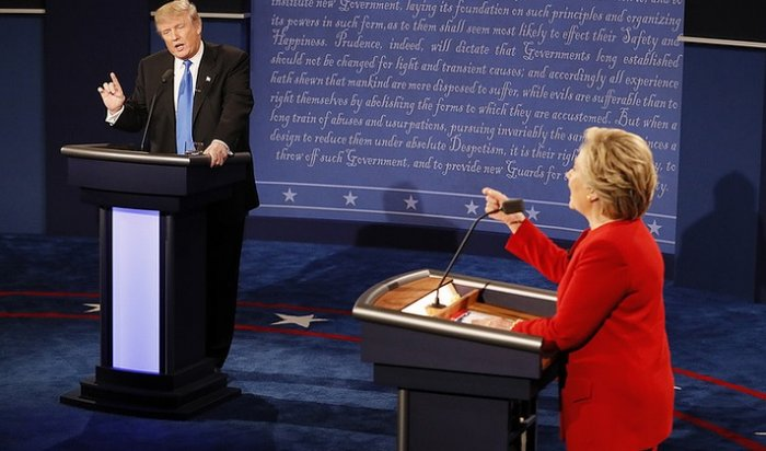 Клинтон одержала победу над Трампом впервых теледебатах