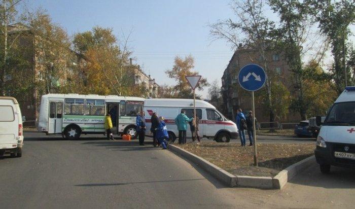 В Братске в ДТП с участием автобуса № 11 пострадали 8 человек