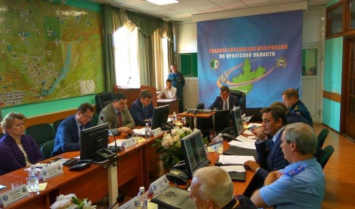 В Иркутске полпред президента РФ в СФО провел заседание комиссии по лесным пожарам