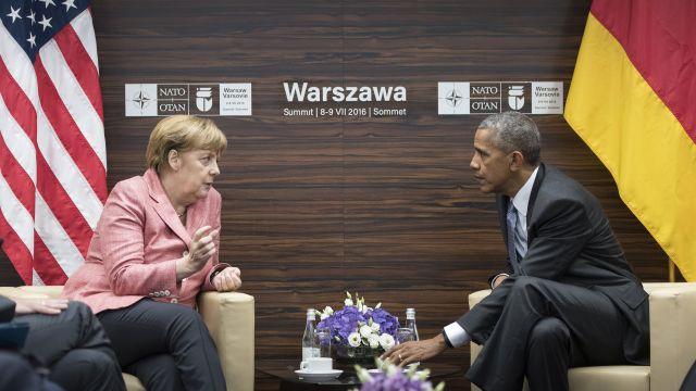 Обама иМеркель назвали Москву иДамаск ответственными заперемирие вСирии