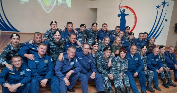 Крымские летчики встретились в Иркутске с бойцами военно-поискового отряда «Байкал»