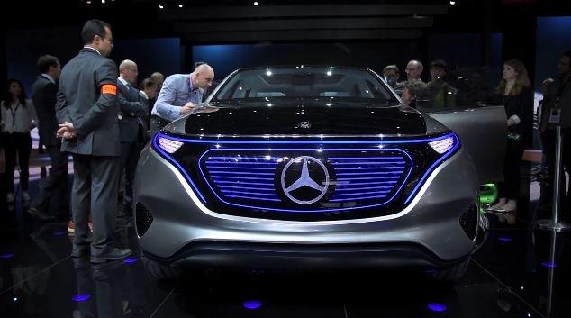 Mercedes представил концептуальный электрический кроссовер