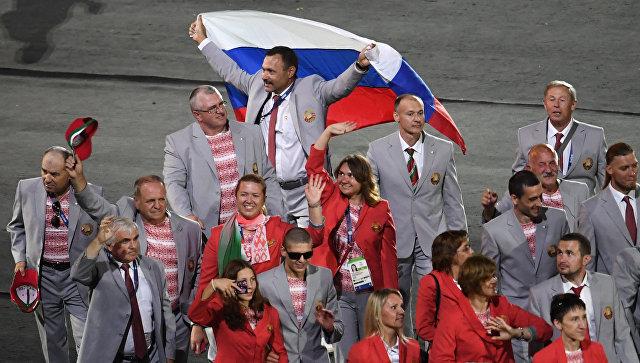 Пронесшему российский флаг наПаралимпиаде белорусу подарят квартиру
