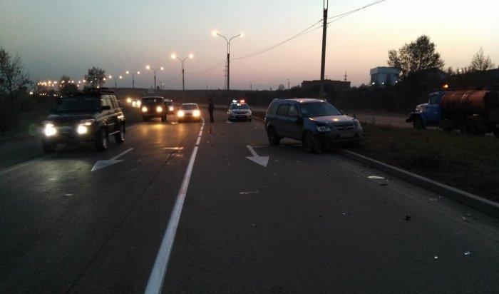 Наобъездной дороге Ново-Ленино водитель «Хонды» насмерть сбил дорожного рабочего (Видео)