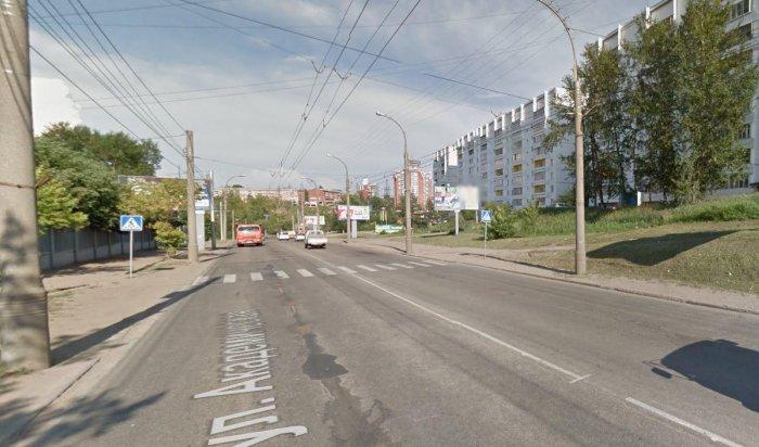 В Иркутске задержан молодой человек, сбивший мужчину на пешеходном переходе на Академической