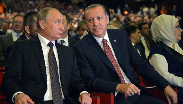 Россия иТурция подписали договор о«Турецком потоке»
