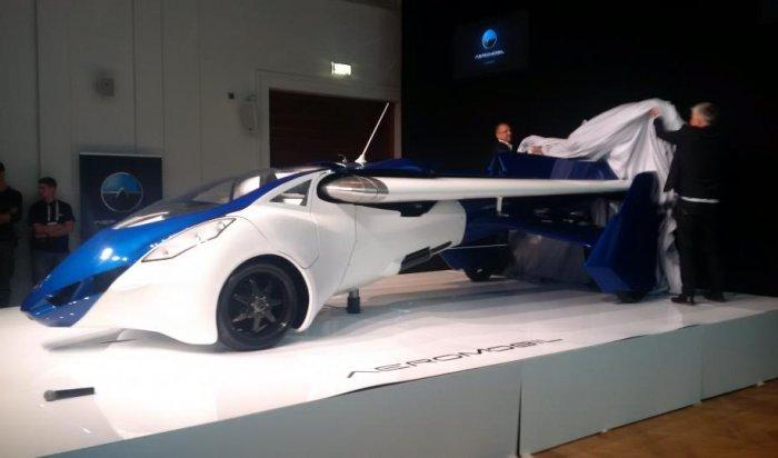 Летающий автомобиль изСловакии поступит впродажу в2017году