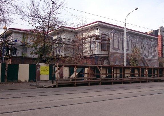 Реставрация Дома литераторов на улице Степана Разина идет с опережением  графика