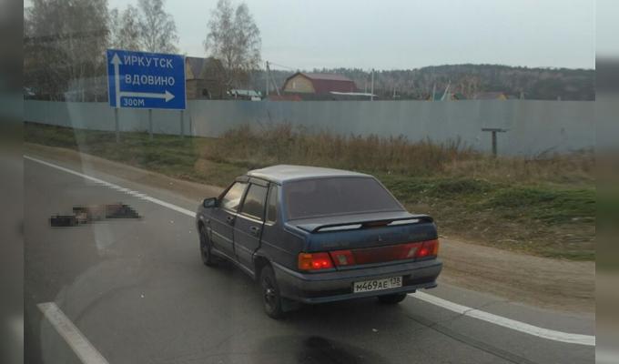 ВИркутском районе водитель «ВАЗа» насмерть сбил пешехода