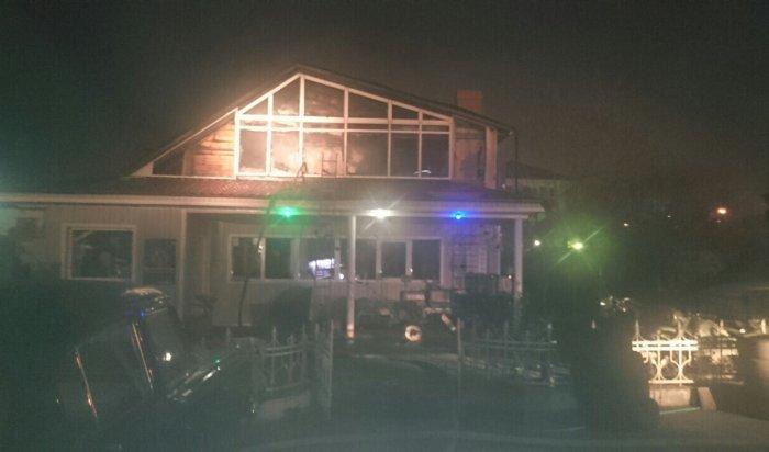 Ночью 17 октября при пожаре  в офисе на улице Розы Люксембург погиб мужчина