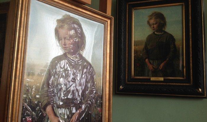 В иркутском музее появилась первая тактильная картина