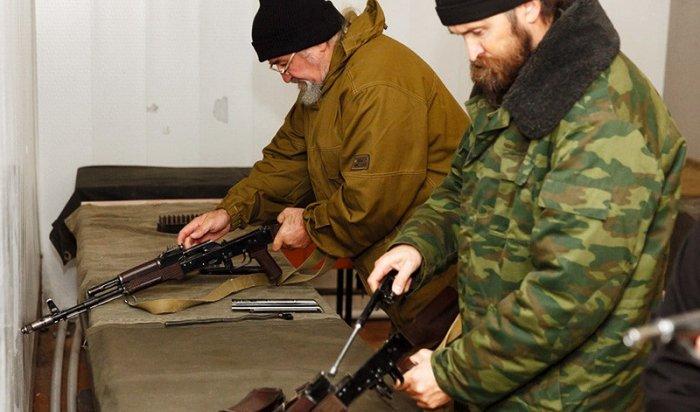 Омские батюшки прошли военные сборы набазе войск Нацгвардии