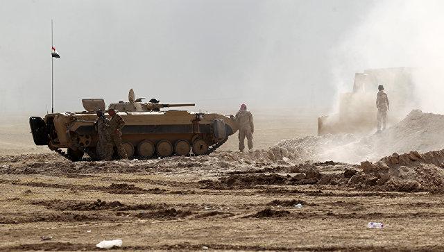 ВССША потеряли первого военного входе наступления наМосул