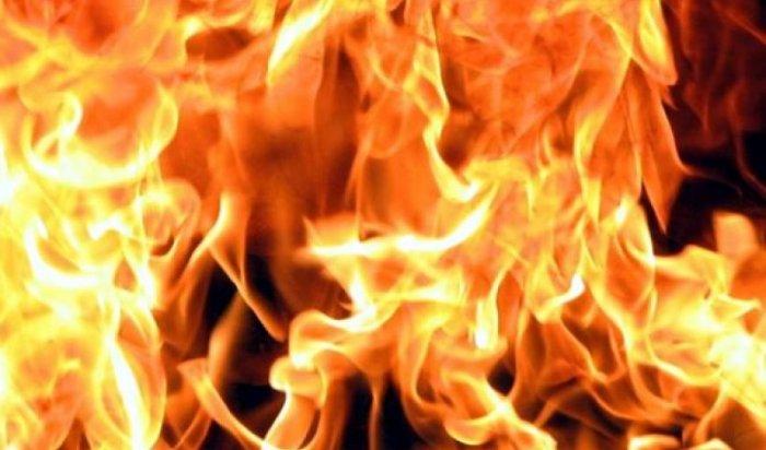 В Култуке Слюдянского района горел рыбный рынок