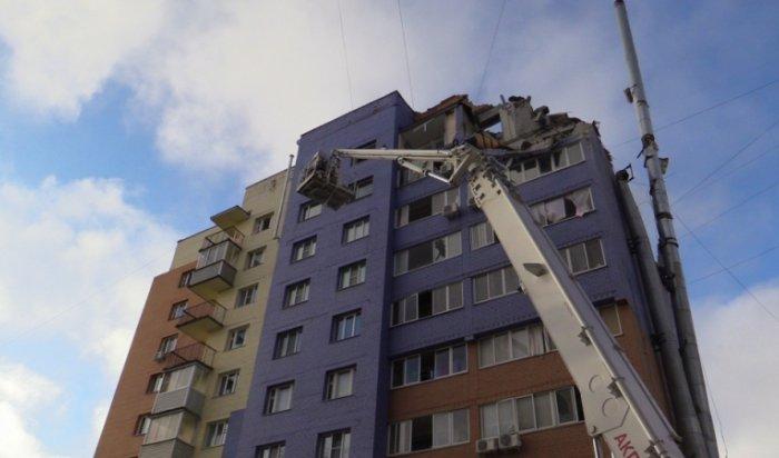 В Рязани три человека погибли при взрыве бытового газа в жилом 10-этажном доме