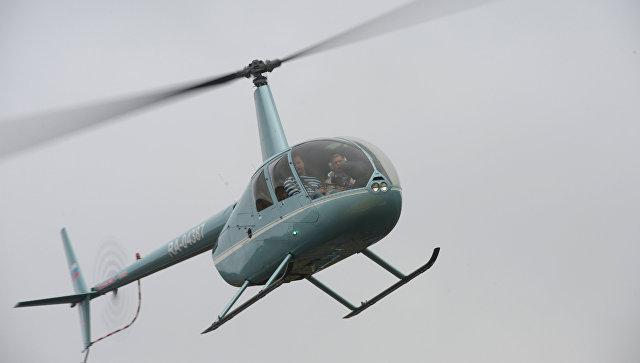 Три человека погибли при крушении вертолета вЗабайкалье
