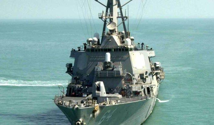 Эсминец ВМФ США вошел в Черное море