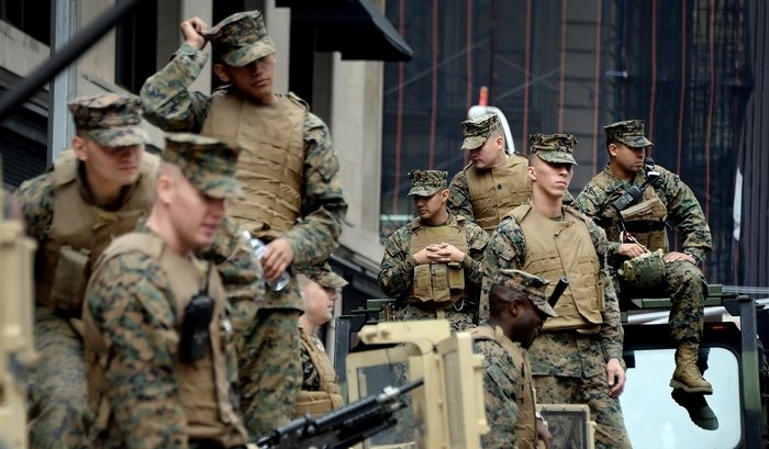 В2017году США разместят вНорвегии 330морских пехотинцев