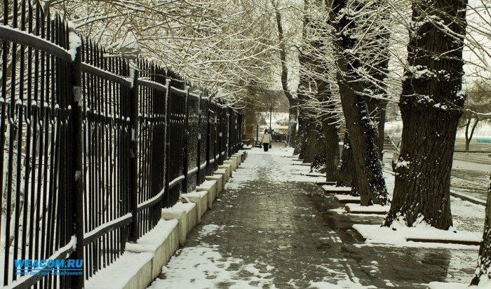 В Иркутской области 27 октября ожидаются снег и метели