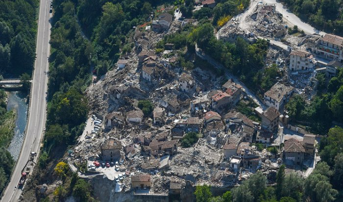 В центре Италии произошло третье за сутки землетрясение