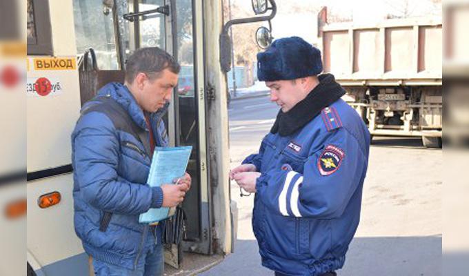 ВИркутске полицейские проводят операцию «Маршрутка»