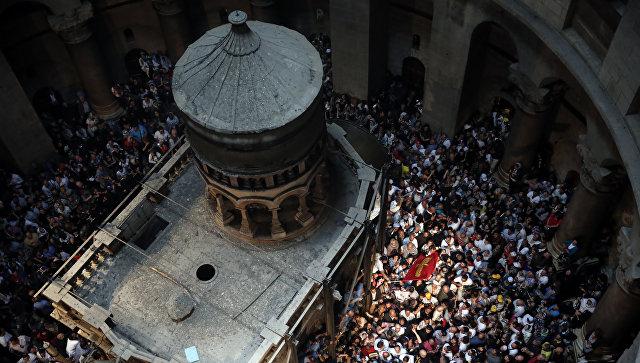 Археологи вскрыли гроб Иисуса Христа впервые за500лет