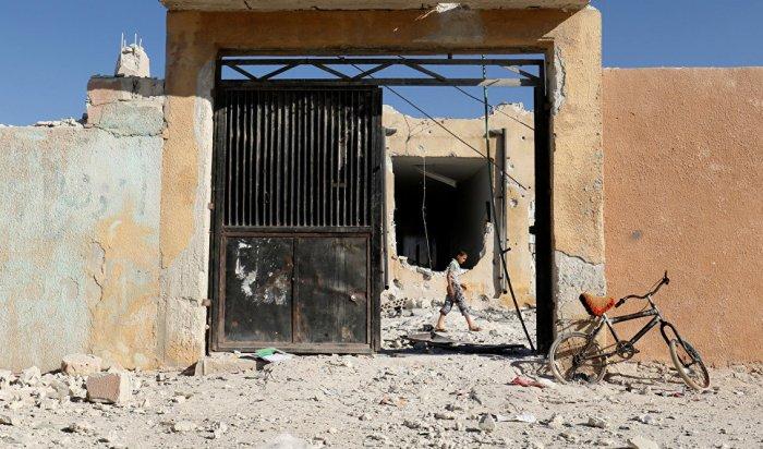 Минобороны назвало монтажом фото разрушенной школы вИдлибе