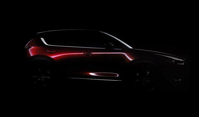 Mazda опубликовала первый тизер нового поколения кроссовера CX-5