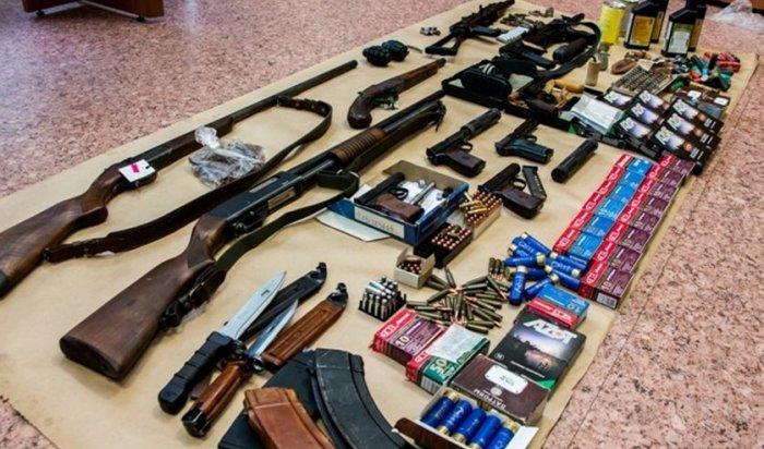 ВИркутске задержали мужчину, незаконно изготовлявшего оружие
