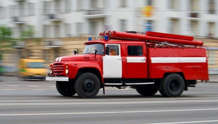 Впоселке Маркова сгорел автомобиль