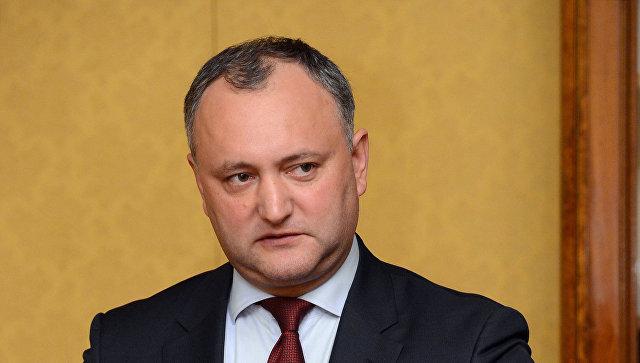 Навыборах вМолдавии лидирует социалист Игорь Додон