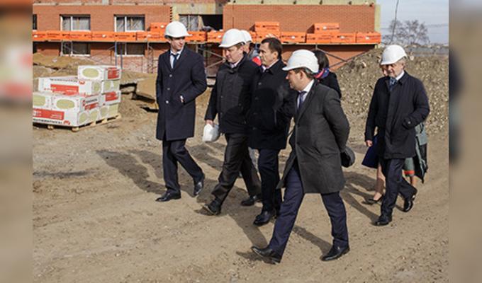 ВИркутске школа вЖК«Эволюция» будет построена доконца 2016года