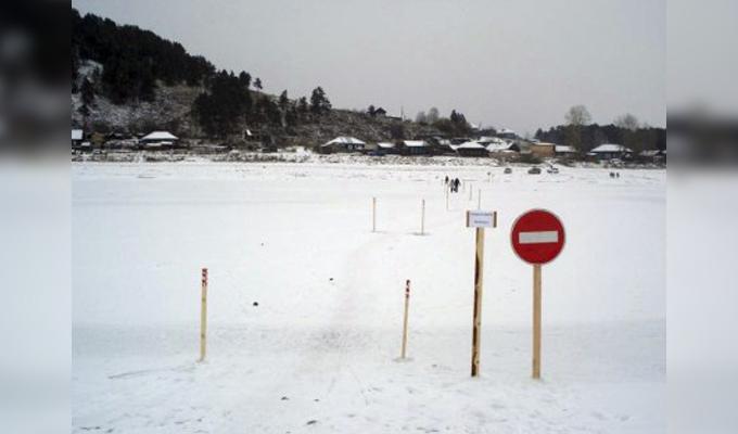 Зимой в Приангарье откроется 50 ледовых переправ