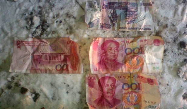 ВПриангарье грабители пытались съесть деньги вовремя задержания