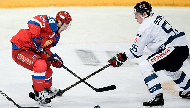 Сборная России похоккею разгромила Финляндию наКубке Карьяла