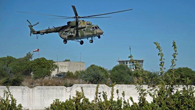 Российский вертолет был обстрелян под сирийской Пальмирой