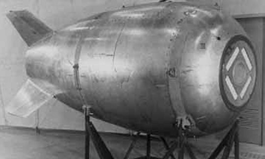 ВКанаде дайвер обнаружил предполагаемую «утерянную» США атомную бомбу