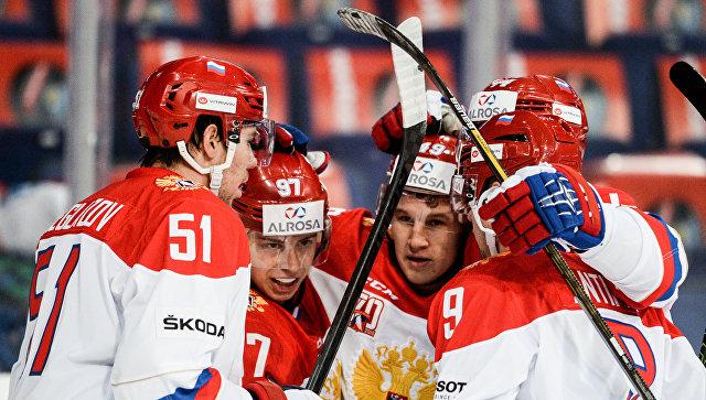 Сборная России похоккею выиграла Кубок Карьяла
