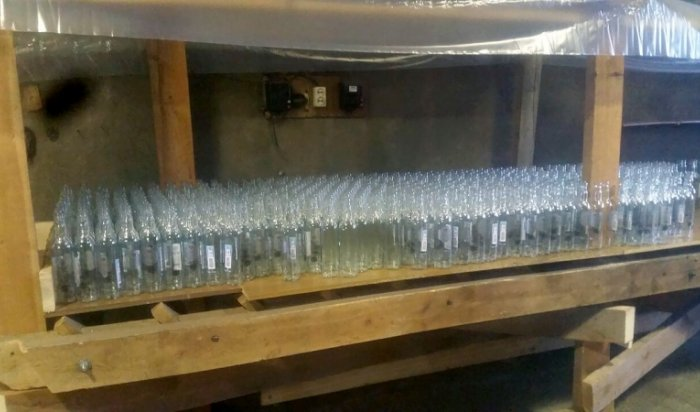 Нелегальный цех по изготовлению фальсифицированного алкоголя закрыли в Братске