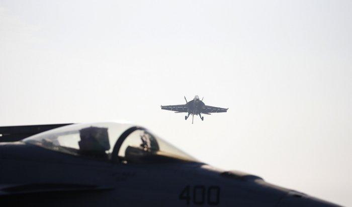 Два истребителя ВМС США столкнулись внебе над Калифорнией